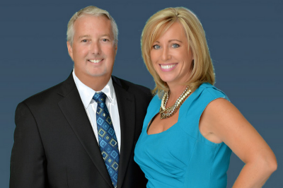 Kristin Mazza and Bob McNelis